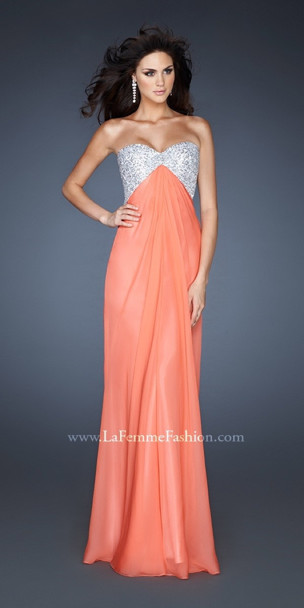 La Femme 18313 298 Unforgettable Dresses3 Pinterest