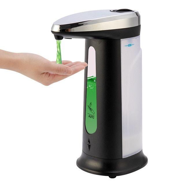 Touch Free Liquid Soap Dispenser In 2021 Soap Pump Dispenser Kitchen Soap Dispenser Automatic Soap Dispenser Auto soap dispenser for kitchen
