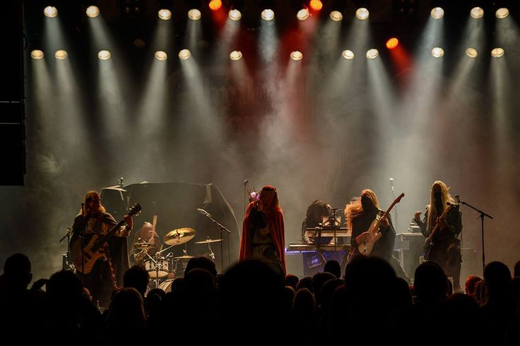 Twilight Force ⚫ Photo from Byscenen FB page ⚫ Trondheim 2016 ⚫ #TwilightForce #music #metal #concert #gig #musician #Chrileon #Lynd #DeAzsh #Born #Blackwald #Aerendir #singer #vocalist #frontman #guitarist #guitar #microphone #ninja #mask #armour #armor #microphone #bracers #tattoo #beard #hood #hymn #elf #tabard #playing #coat #earrings #leather #blond #longhair #show #photo #fantasy #magic #cosplay #larp #man #onstage #live #celebrity #band #artist #performing #Sweden #Swedish #Trondheim