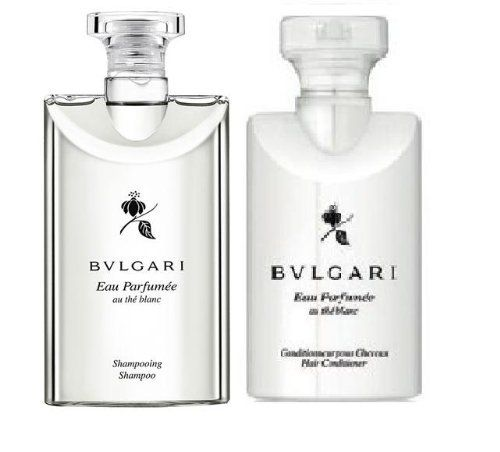Bvlgari White Tea au the blanc Shampoo & Conditioner. Lot of 6(3 of each) Total of 15oz. by BVLGARI. $30.00