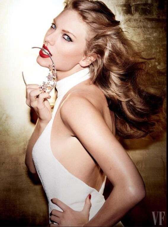 Taylor Swift in Vanity Fair