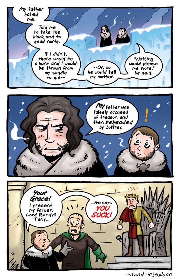 Samwell and Jon Snow - ASoIaF / Game of Thrones by Azad-Injejikian.deviantart.com on @deviantART