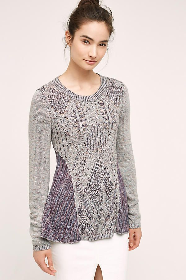 Pullover Antia Swing Top - Anthropologie