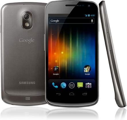 Google Galaxy Nexus 2012