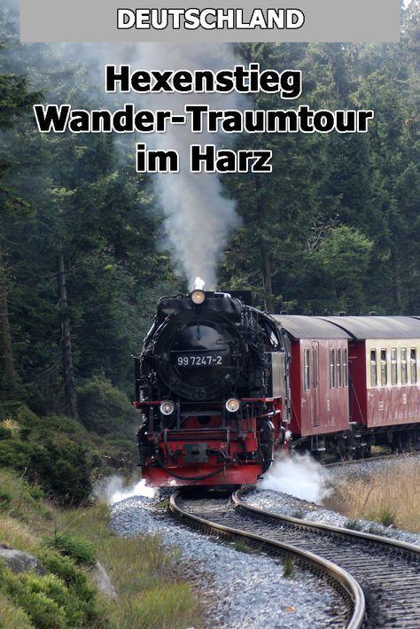 Ob von Wernigerode, Torfhaus, Altenau oder Ilsenburg - auf den Brocken führen viele traumhafte Wanderwege. Ein Besuch im Harz am Hexenstieg lohnt sich aber nicht nur zum Wandern.