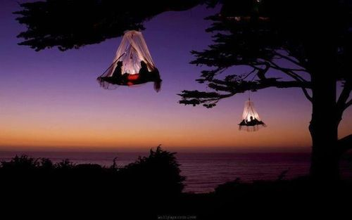 GREAT!: Bucketlist, Pacific Coast, Under The Stars, Buckets Lists, Favorite Places, Each California, Hanging Tent, Treecamp, Trees Camps