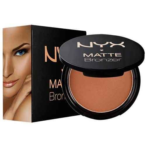 NYX Matte Bronzer | 22 Cheap Answers To Pricey Beauty Products Go lighter than you think you'll need