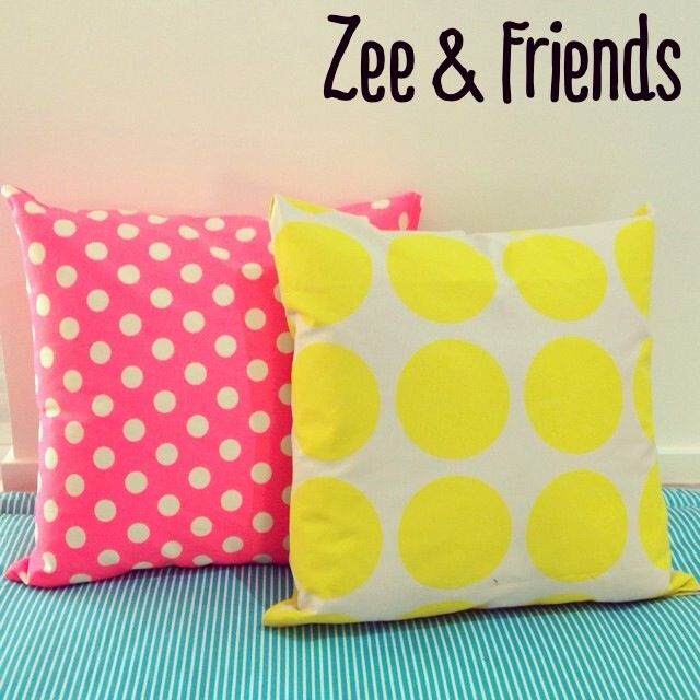 Our cushions are 45 x 45cm & can be in any fabric combination!! $25 each or 3 for $59 ☺️ #zeeandfriends #comfortcushions