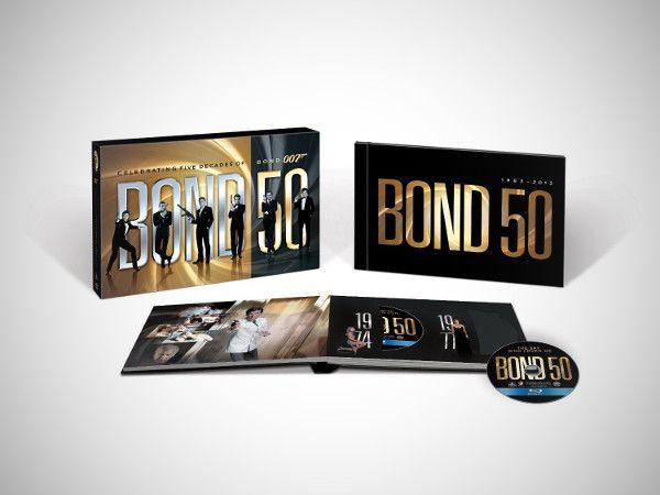 james bond bluray dvd complete box set