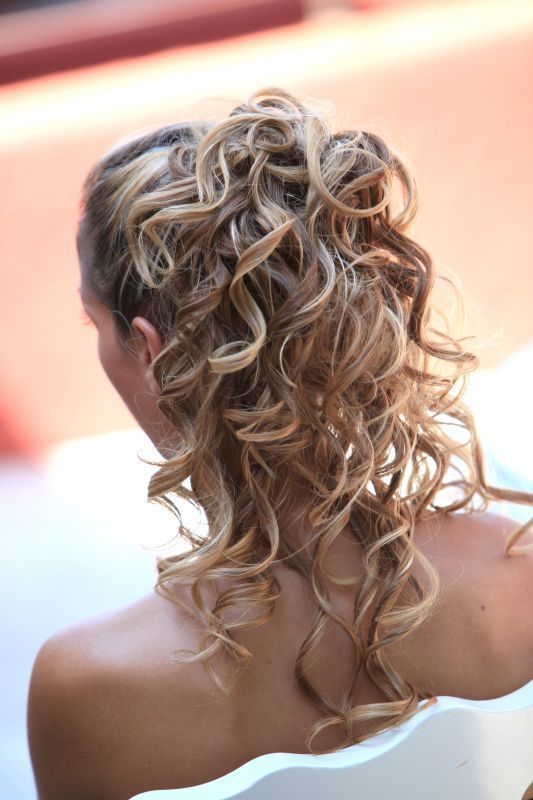 Coiffure Mariage Fillette Cheveux Mi Long