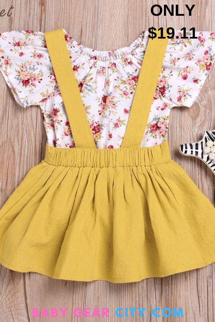 Girl kid baby boutique 3 piece outfit set vintage summer ange short bandeau