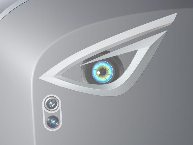 iPhone Crystal Concept Design, back camera