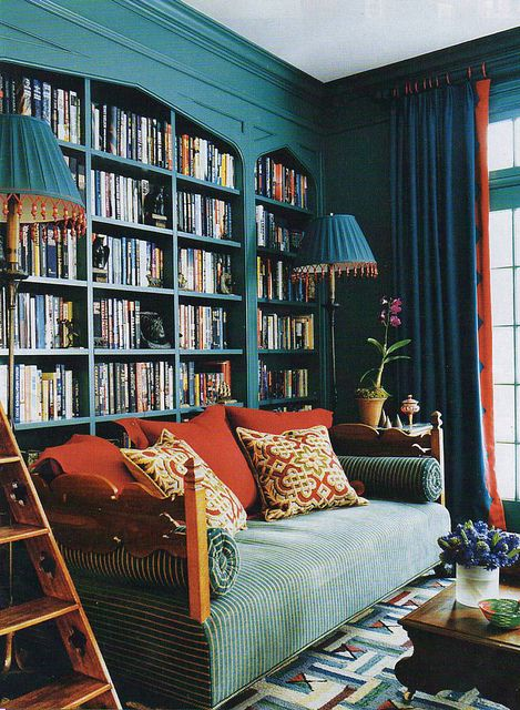 by DesignBabylon - flickr---Some of these pictures remind me of the Library in Beauty and the Beast. I could just stay there forever.......