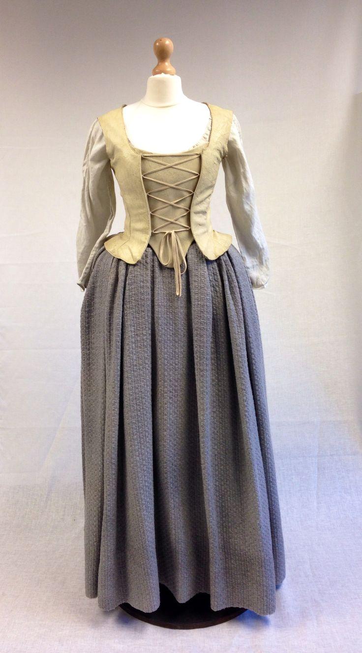 Geillis (Lotte Verbeek) Dress from Outlander on Starz on Terry Dresbach's blog