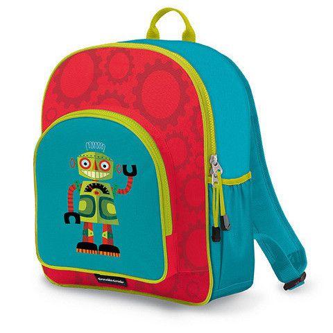 Crocodile Creek Backpack - Robot http://pumpkinpiekids.com/products/backpack-5