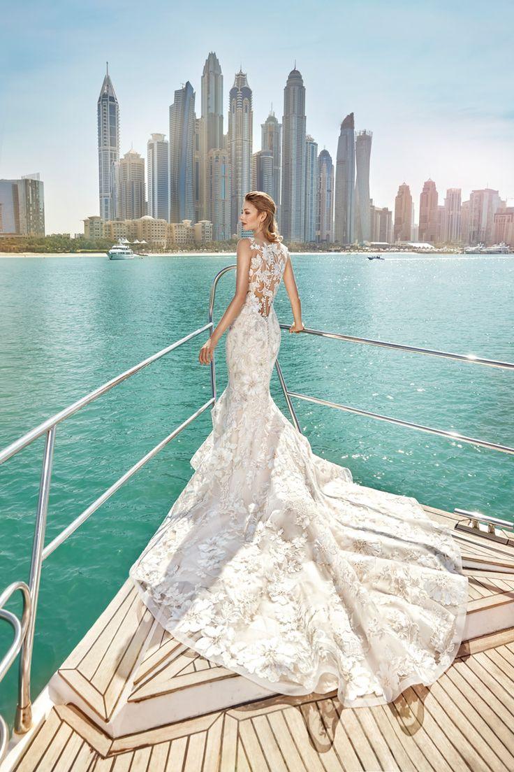 41 best Eddy K images on Pinterest | Wedding gowns, Short wedding ...