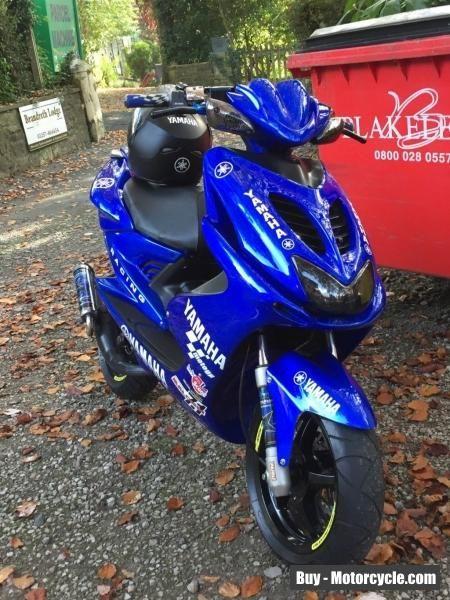 Yamaha aerox 50cc moped  scooter  #yamaha #aerox #forsale #unitedkingdom