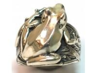Sterling Silver Frog Ring Gavan Riley Jewellery New Zealand. I have this ring. Lovely!