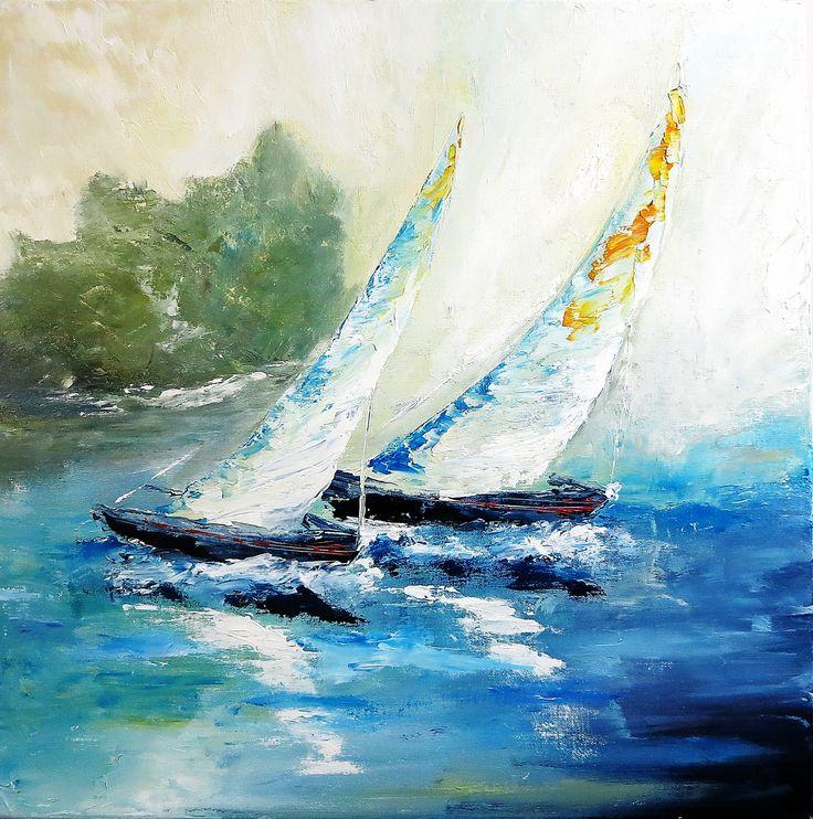 Acrylic on canvas  60 x 60 cm