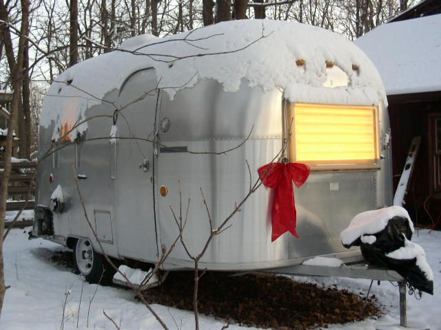 100 ideas to try about airstreams airstream trailers for Airstream christmas decoration