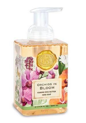 Orchids in Bloom Foaming Soap Michel Design Works