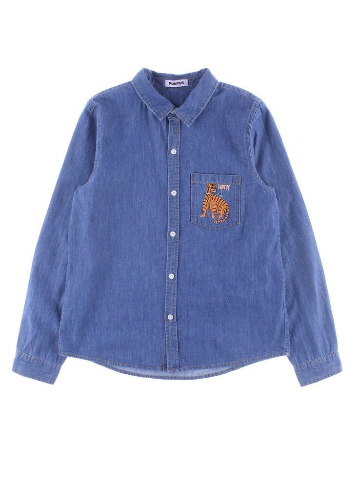 PUNYUS(プニュズ)のPUNYUS/タイガー刺繍シャツ。渋谷109の人気ブランド/ショップの最新レディースファッションや新作、人気、おすすめアイテムをお届け。お得なイベント情報も