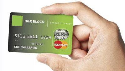 hrblock emerald card login