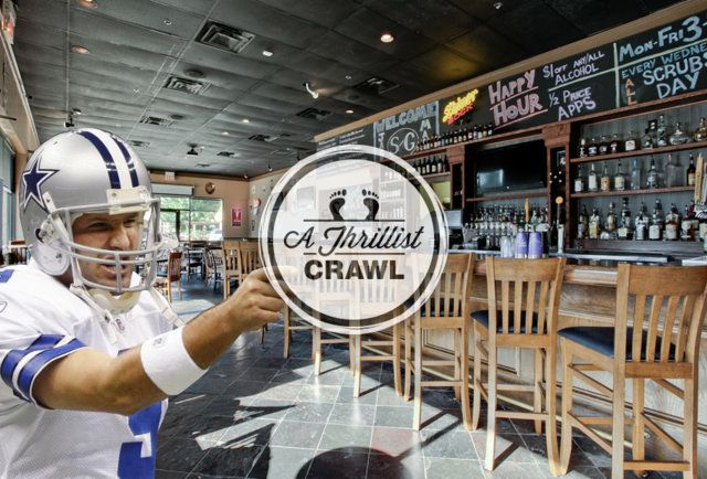 Tony Romo has a new house… that we mapped a bar crawl around