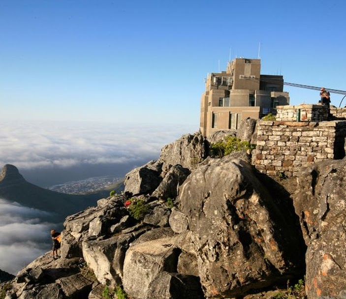 Table Mountain Cableway, Cape Town Location.