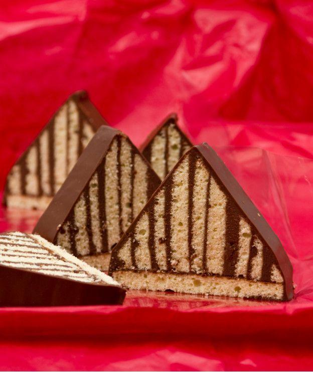 Πυραμιδάκια με σοκολάτα
