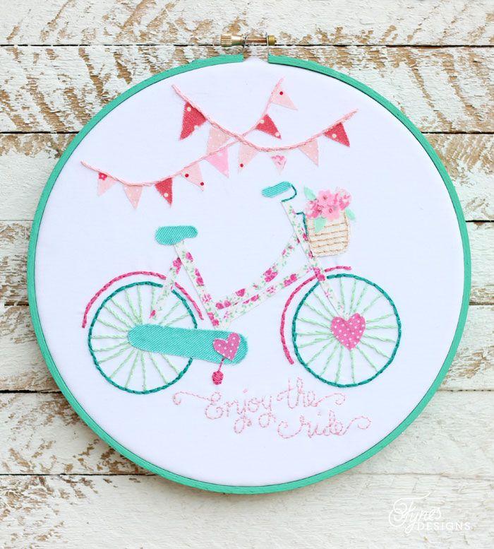 Para a decoração do quarto de queridas crianças. Fotografia: https://www.pinterest.com/search/pins/?q=wedding+embroidery+hoop.