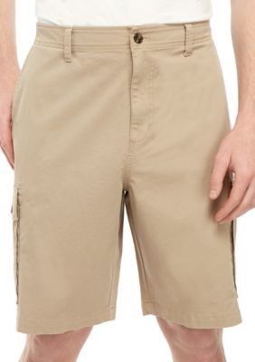 Saddlebred® Big & Tall Cargo-Shorts aus Twill   – Products