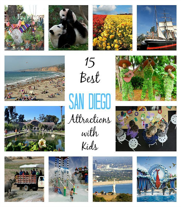 15 Best San Diego Attractions for Kids + family-friendly hotel and restaurant picks!