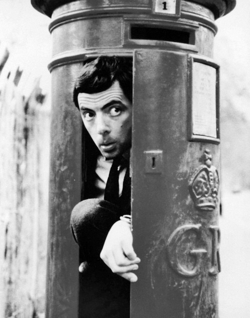 """""""I want to express myself in a different way. I have a performing inclination."""" - Rowan Atkinson <3"""