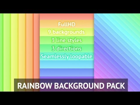Rainbow Background Pack