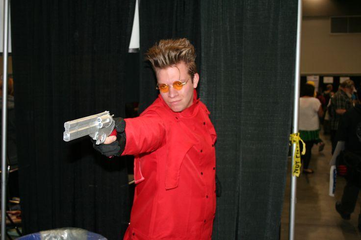 Tri gun cosplay :D