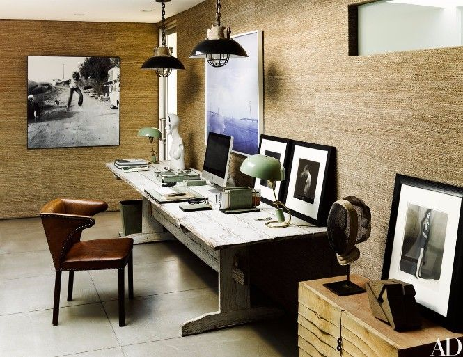 Take a look at Ryan Murphy's Beach House with Mid-Century Lighting Designs. For more inspirations and ideas about modern floor lamps go to: modernfloorlamps.net