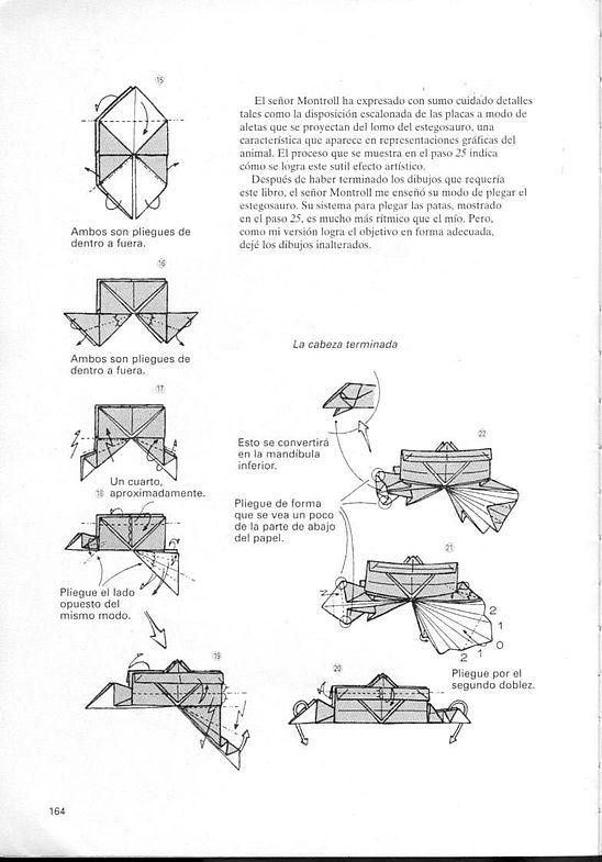 kunihiko kasahara y Toshie Takahama (Papiroflexia) - Origami para expertos 163_page163