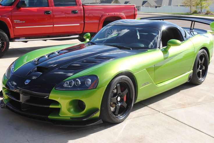 2009 Dodge Viper Acr Snake Skin Green Click To Find Out