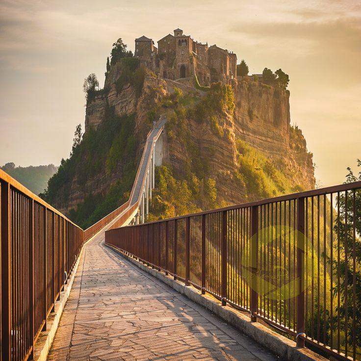 Civita di Bagnoregio in the morning light - Lazio, Italy  (by Jaroslaw Pawlak on 500px)