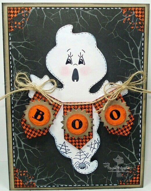 как сделать открытку хэллоуин место туркменской