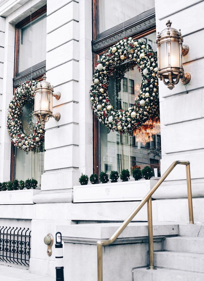 128 best Outdoor Christmas Decorations images on Pinterest | Xmas ...