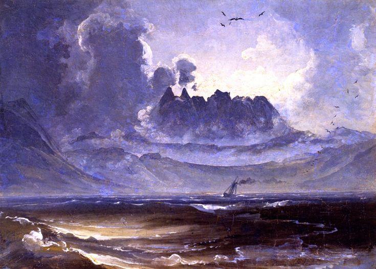 Peder Balke (1804-1887): The Mountain Range Trolltindene