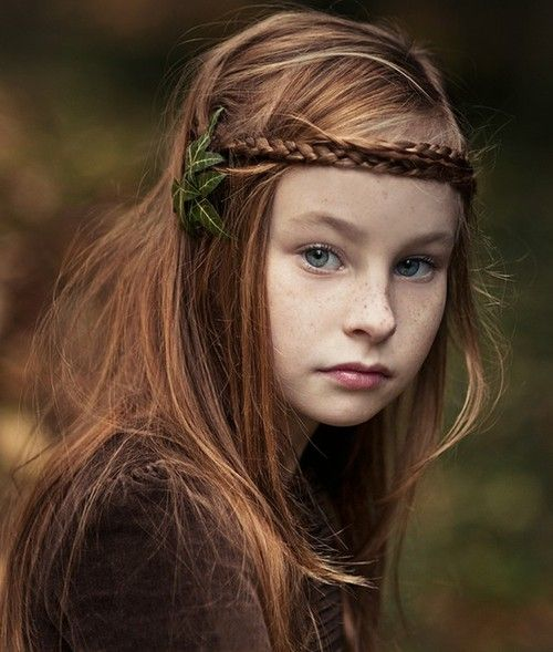 this little elfin childBraids Hairstyles, Little Girls, Fairies, For Kids, Red Hair, Children, Portraits Photography, Hair Style, Redhair