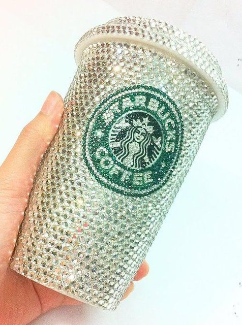 For my Coffee Lover Friends: Things, Sparkle, Products, Glitter, Bling Bling, Starbucks Cup