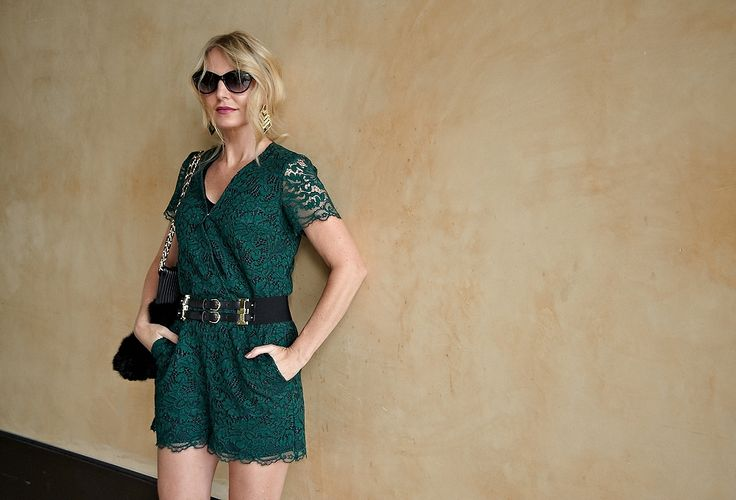 Lace Romper | Wear Into The Fall - Busbee Style | Erin Busbee