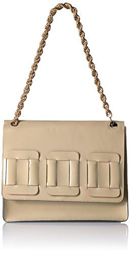 934cd1602d Orla Kiely Glass Leather Linked Square Bonnie Bag Cream     You can find  more details by visiting the image link. (This is an affiliate link)