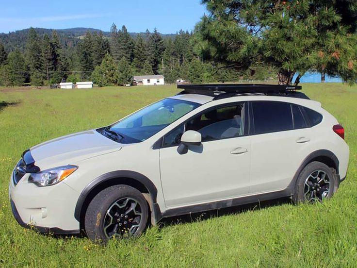 Subaru Crosstrek / XV Roof Rack (Full Cargo Rack Factory Rail Mount Extreme) - Front Runner Slimline II