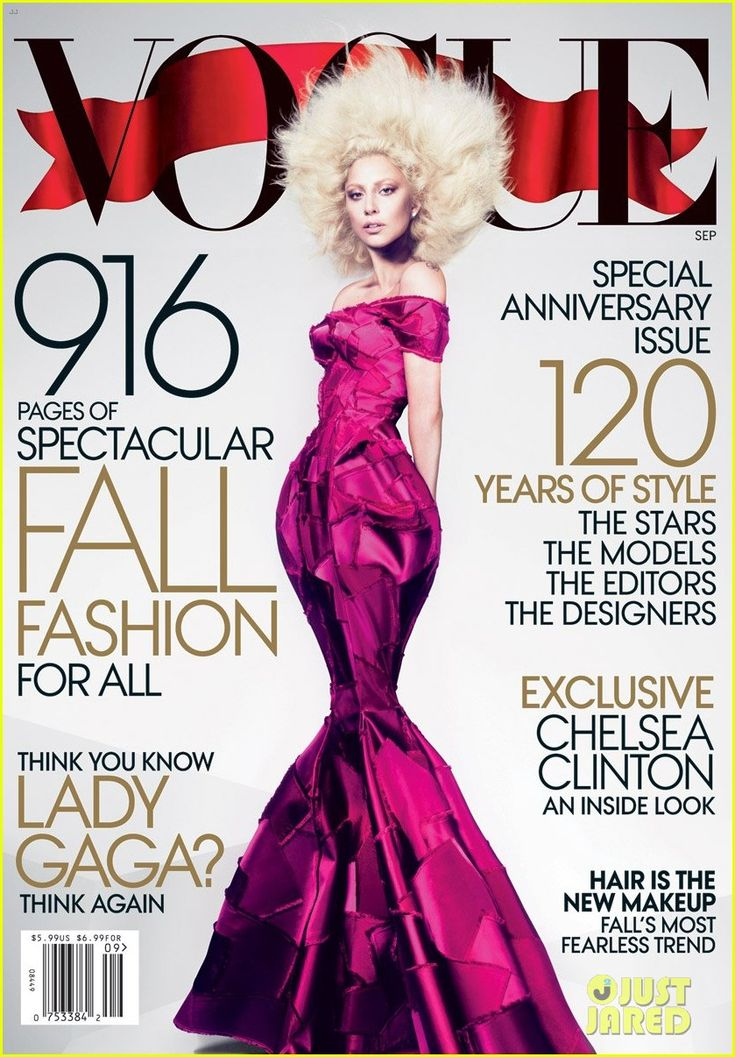 Lady Gaga Covers 'Vogue' September 2012