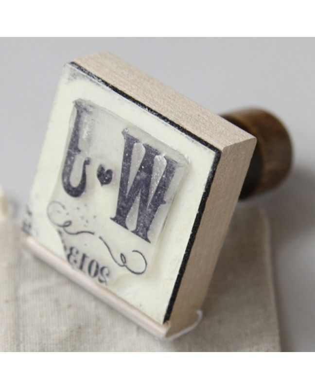 Personalized Love Wedding Stamp www.mybridalsupply.com